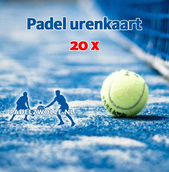PadelZwolle_urenkaart20