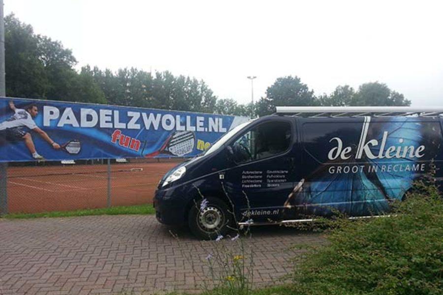 PadelZwolle.nl banner.
